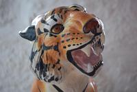 Large Mid-Century Italian Ceramic Tiger (2 of 10)