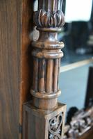 Anglo Indian Carved Rosewood Glazed Cabinet (14 of 14)