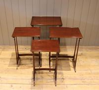Mahogany Nest of Four Tables (4 of 11)
