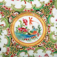 19th Century Chinese Canton Plate (6 of 8)