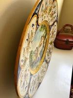 Italian Castelli Maiolica Charger, Large, Stunning, 18th Century (5 of 12)