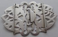 Arts and Crafts Style 1903 Hallmarked Solid Silver Nurses Belt Buckle Edwardian (2 of 8)