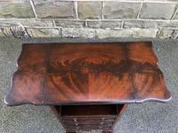 Antique Mahogany Bedside Cabinet (8 of 8)