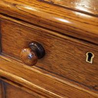 Victorian Oak Partners Desk (9 of 12)