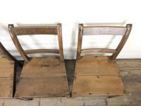 Set of Four Antique Farmhouse Kitchen Chairs (4 of 9)