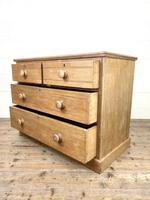 Antique Pale Oak Chest of Drawers (9 of 10)