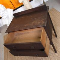 Arts & Crafts Oak Chest of Drawers (6 of 12)