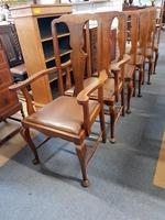 6 Oak Dining Chairs