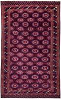 Antique Turkmen Tekke Carpet