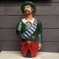 Scottish Highlander Ship's Figurehead