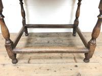 Antique Oak Side Table (m-2295) (4 of 12)