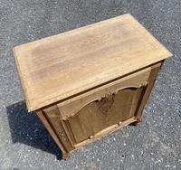 French Bleached Oak Side Cupboard (6 of 16)