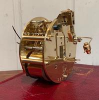 Small Mahogany & Inlay Mantel Clock (11 of 12)