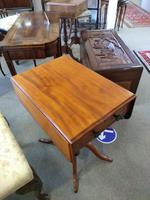 Victorian Mahogany Pembroke Table with Two Drawers (2 of 7)
