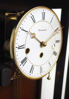 Perfect Vintage Musical Dual Chime Westminster Chiming Wall Clock 8-day Mahogany Case (11 of 12)
