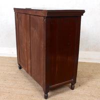 Dresser Base Walnut Edwardian Sideboard Cabinet (11 of 12)