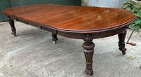Impressive Victorian Mahogany Extending Dining Table - Seats 12 (20 of 23)