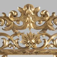 Large 19th Century Carved Giltwood Marginal Overmantle Mirror (4 of 16)