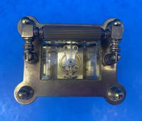 Victorian Gilt Brass  Charles Frodsham Carriage Clock (4 of 11)