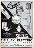 Vintage Simplex industrial circular pendant lights (11 of 11)