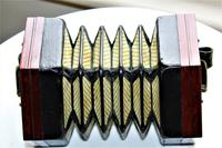 Lachenal Mahogany concertina in the original carrier case which is in very good condition (12 of 13)