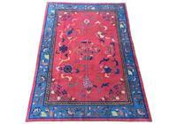 Antique Chinese Art Deco Carpet (2 of 9)