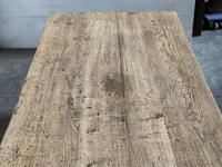 Superb Quality Large Bleached Oak Farmhouse Dining Table (10 of 32)