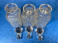 Edwardian Silver Plated Tantalus c.1905 (13 of 14)