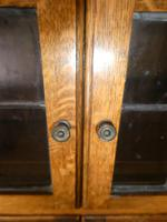 Pair of Oak 1920s Bookcases (4 of 12)
