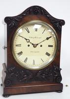 Antique English 8 Day Twin Fusee Bracket clock 8-Day Striking Double Fusee Mantel Clock By G Spiegelhalter & Co Whitechapel (4 of 13)