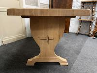 French Trestle End Refectory Farmhouse Dining Table (11 of 17)