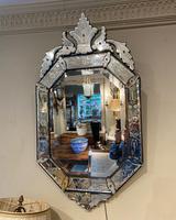 Engraved Venetian Mirror (2 of 3)