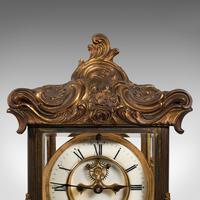 Antique Mantel Clock, French, Gilt Bronze, Ormolu, Brocot Escapement, Circa 1900 (4 of 12)