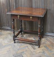 Early Oak Country  Side Table (6 of 6)
