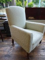 Neat Upholstered Armchair (2 of 6)