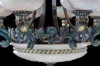 Early 20th Century Eight Arm Chandelier (6 of 6)