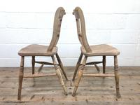 Pair of Chairs with Rope Twist Backs (6 of 10)