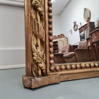 Large Antique French Mirror c.1860 (4 of 9)