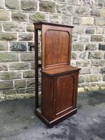 Antique Oak Dining Table Leaf Cabinet (9 of 9)
