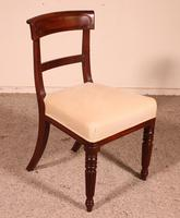 Set of 8 Mahogany Chairs Early 19th Century (6 of 10)