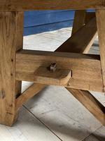 Scandinavian Style Bleached Oak Farmhouse Table (2 of 14)