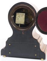 Impressive Solid Walnut Drum Head Striking Mantel Clock PHS Mantle Clock (10 of 12)