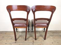 Pair of Victorian Mahogany Chairs (8 of 8)