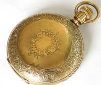 Antique Elgin pocket watch, 1891 (3 of 6)