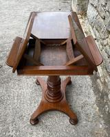Victorian Mahogany Adjustable Reading Table by Ward (3 of 16)
