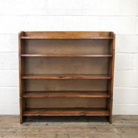 Early 20th Century Antique Oak Bookcase (3 of 9)