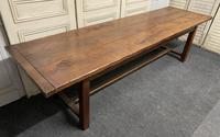 Long French Oak Farmhouse Dining Table (11 of 17)