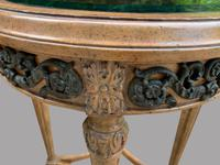 A Pair of Maitland Smith (philippines) French Style Circular Glass Topped Tables (3 of 4)