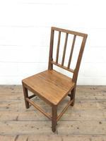 Four Similar 19th Century Stick Back Farmhouse Chairs (4 of 7)