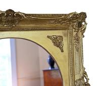Gilt 19th Century Large Overmantle Wall Mirror (5 of 6)
